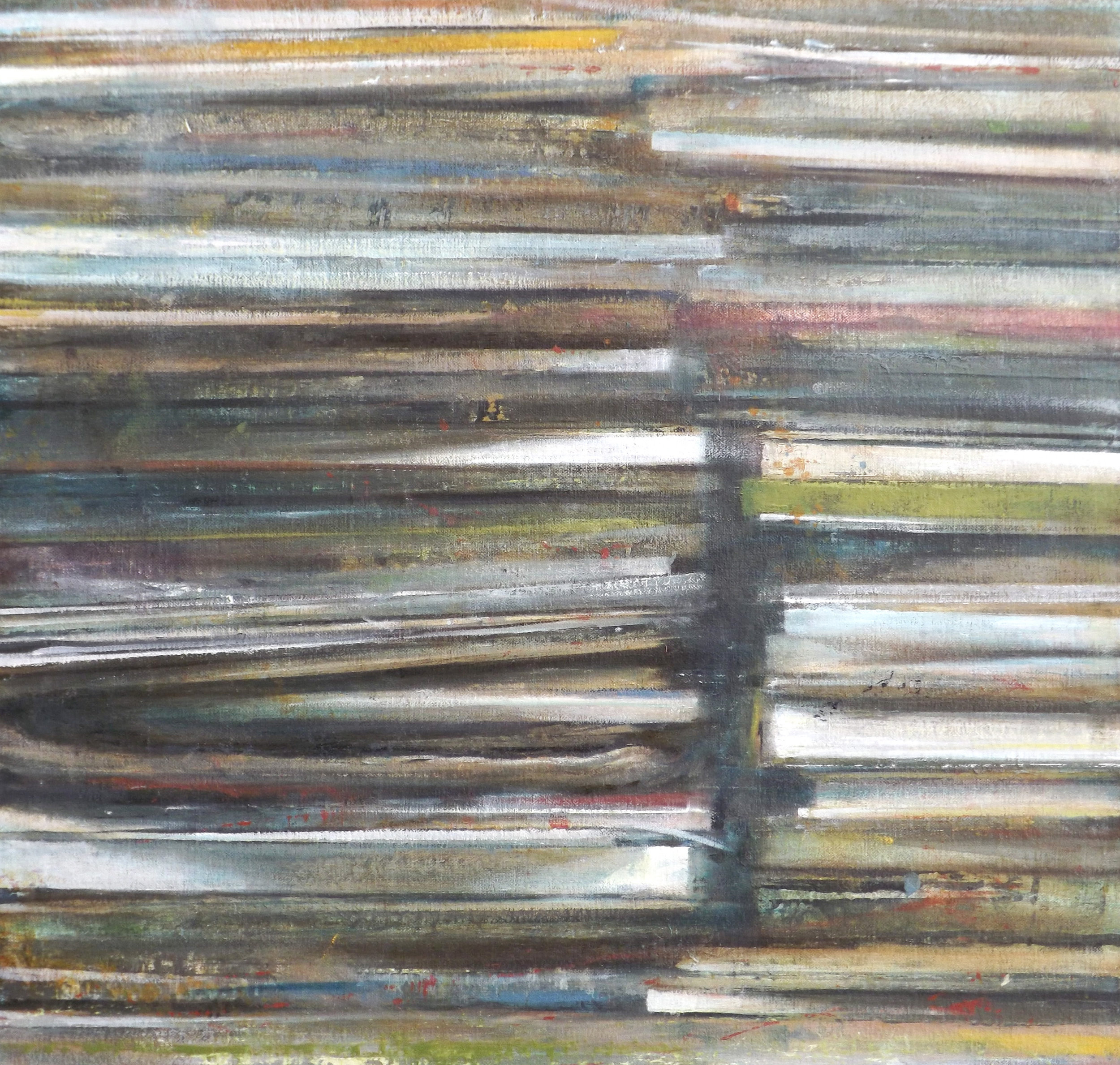"""Dwell   oil on canvas  20 x 21""""  2013"""