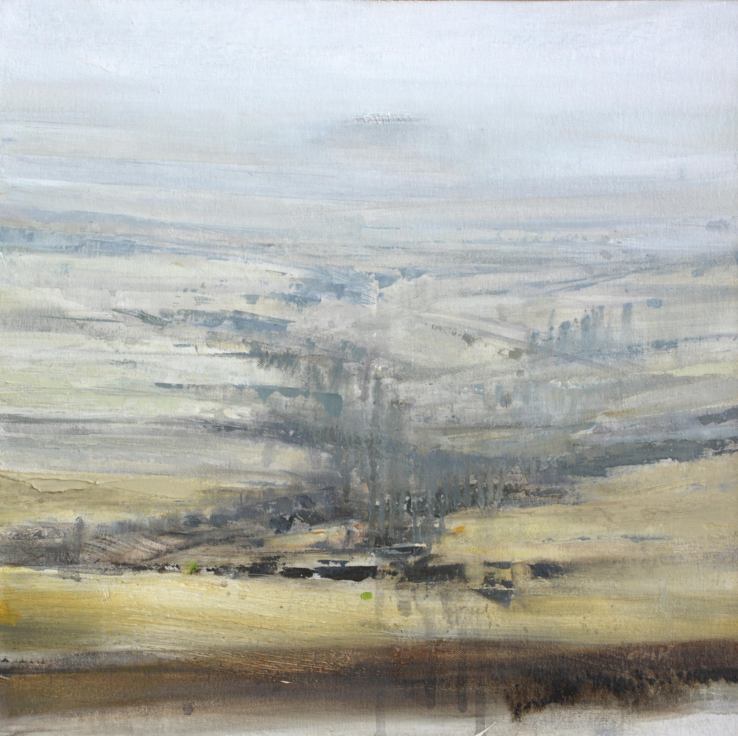 "Boulder Creek   oil on canvas  16 x 16""  2016"