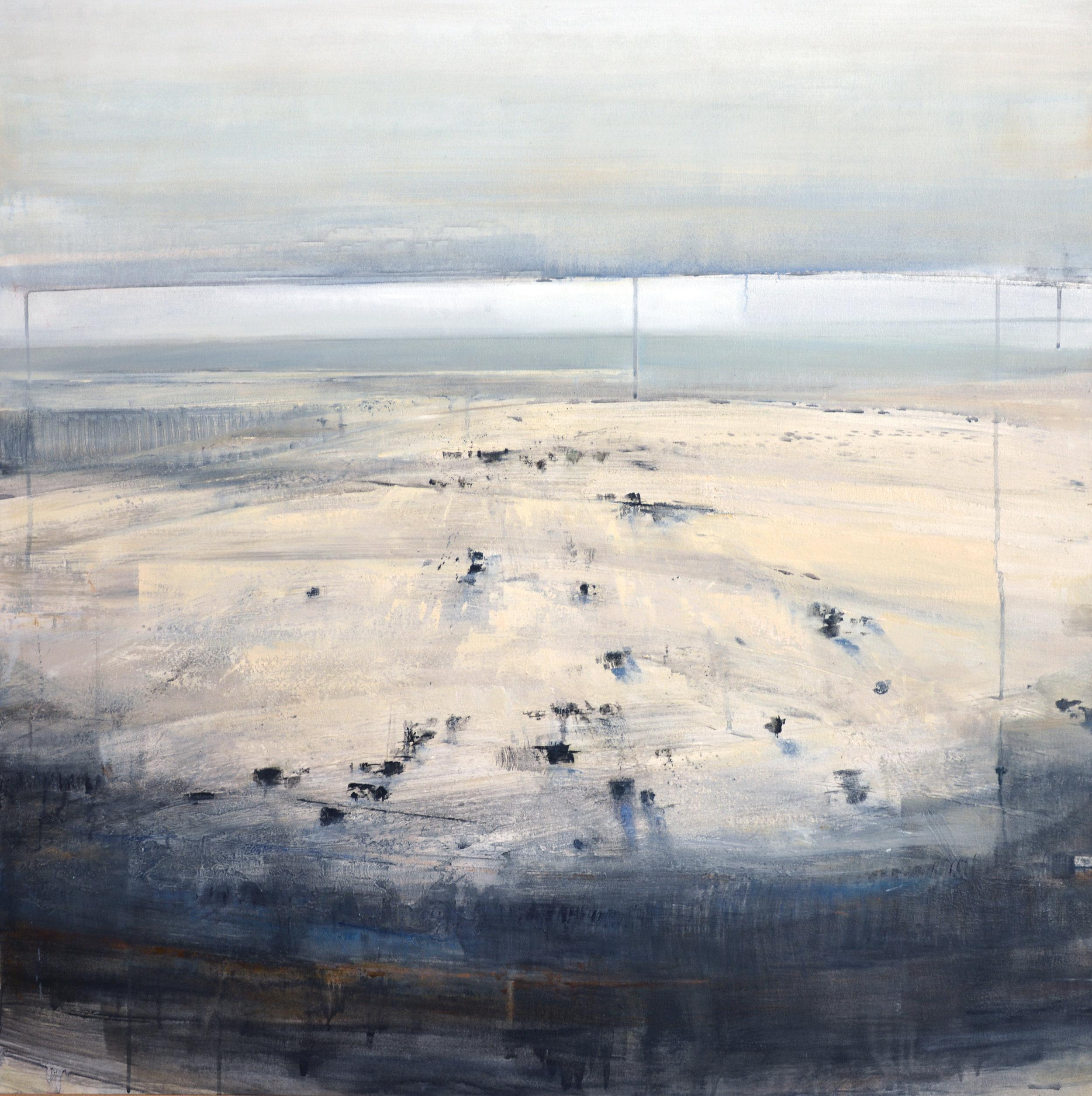 """Cedar   oil on canvas  45 x 45""""  2016"""