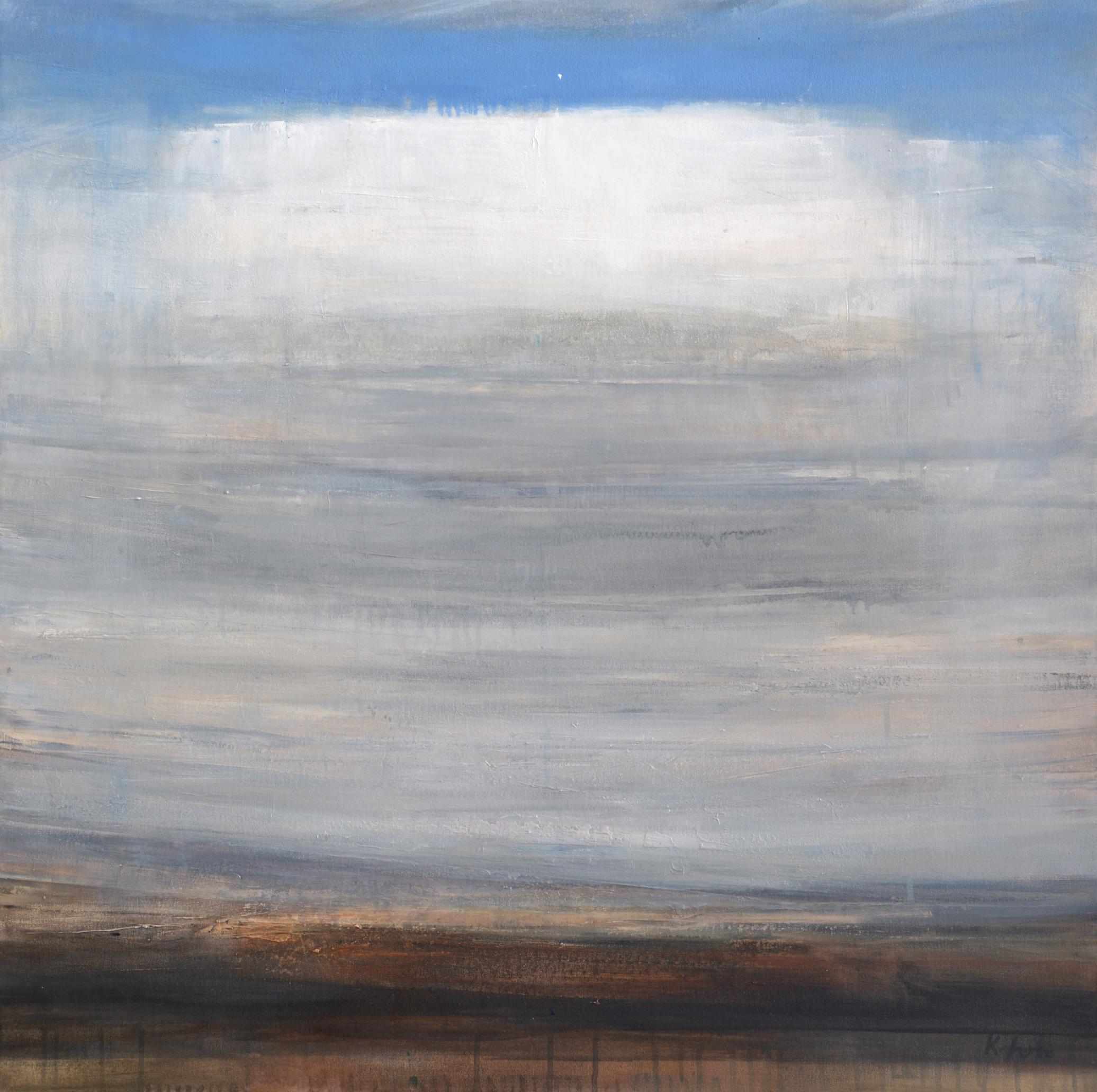 "Cumulo    oil on canvas  36 x 32""  2015"