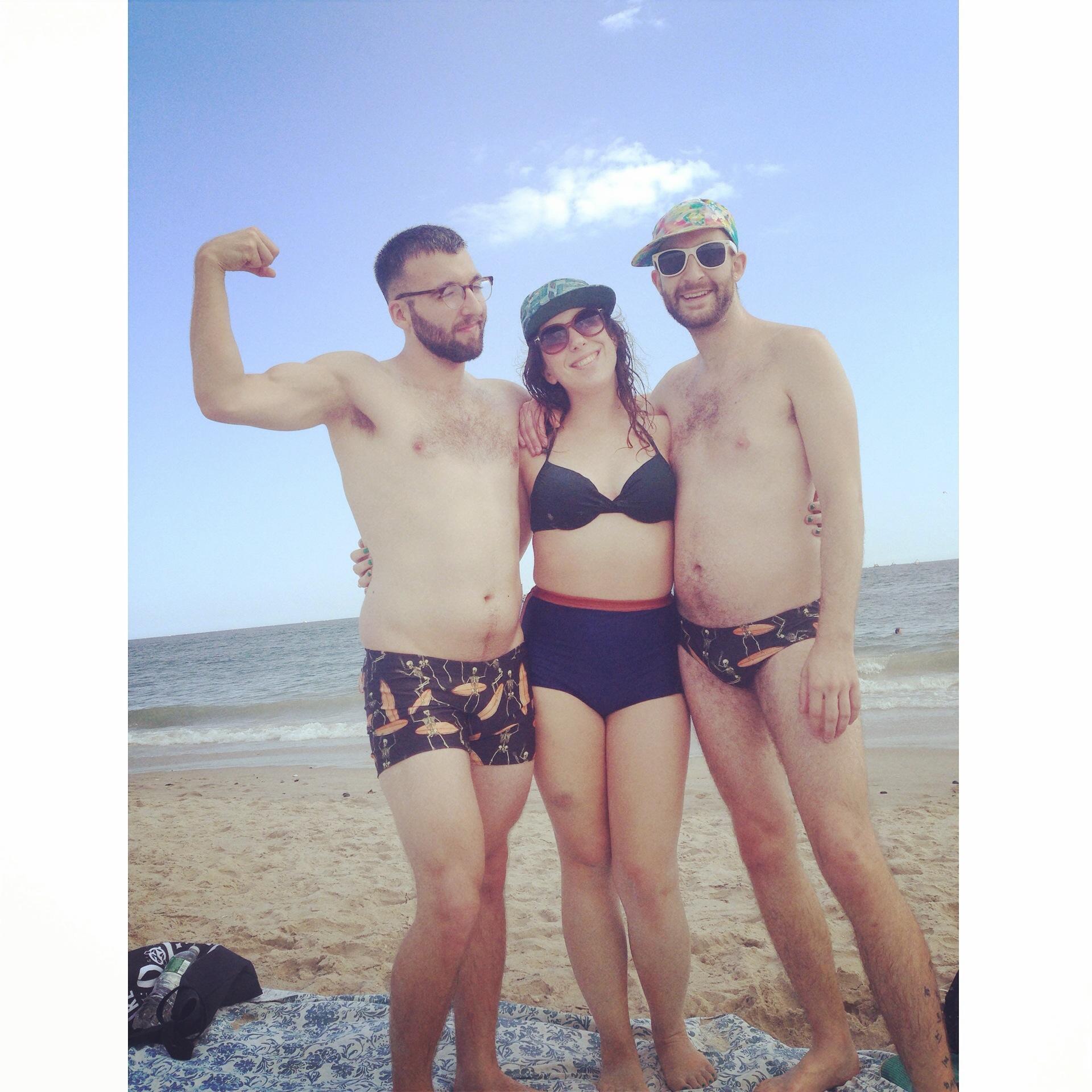 Hang Ten Kill Yourself Trunks, Speedo, and Retro Bikini