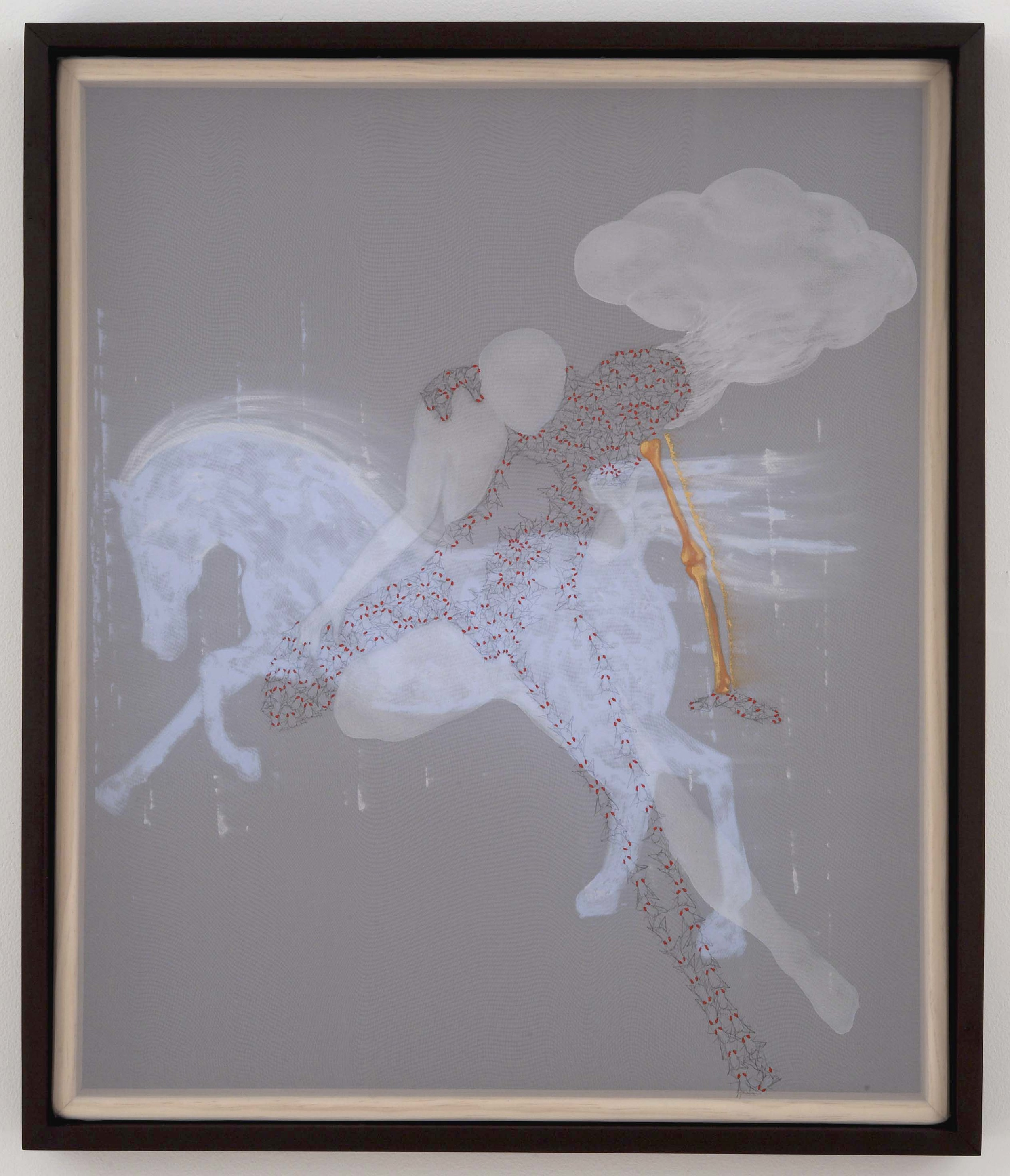 secretamente, entre la sombra y el alma (horse)