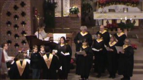 Chancel Choir directed by Steve Lewis