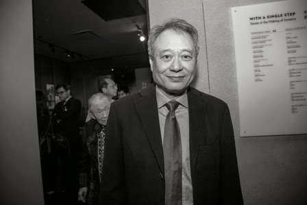 Hey one of guests of honor is Ang Lee!