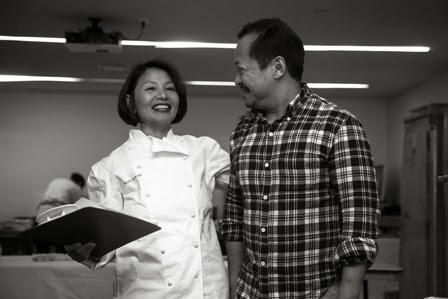Irene K. Wong with  Pichet Ong