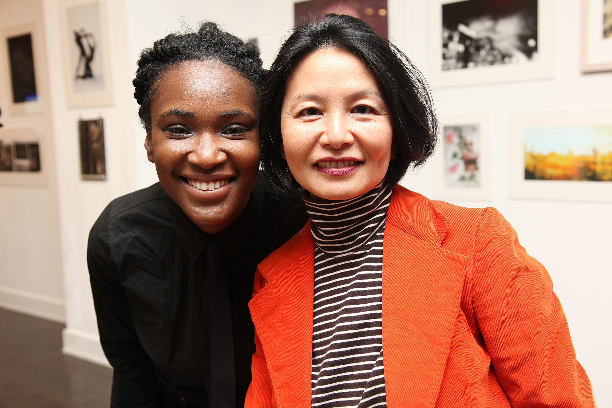 Dionne Anderson and Irene Khin Wong
