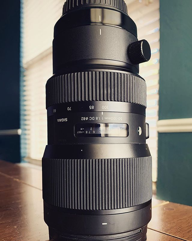 Ready to unleash this beast today. Fastest zoom telephoto lens available. It's so clean and sharp with some beautiful bokeh. I'm always looking for ways to create the most captivating images for your film.