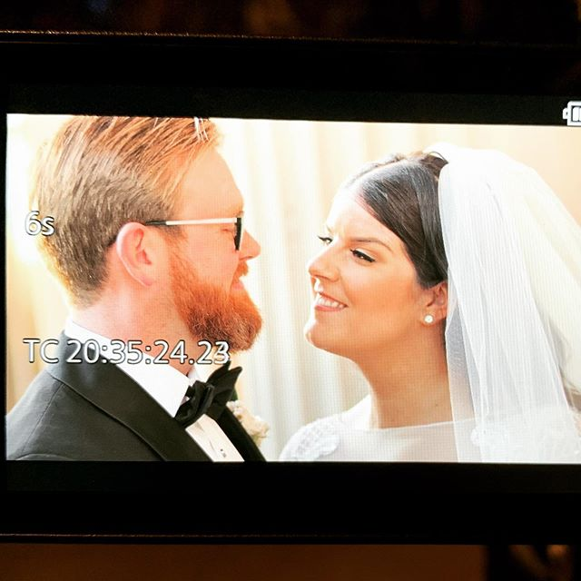 Congrats Brittney & Phillip! What a beautiful, glorious day!  #backofcamera