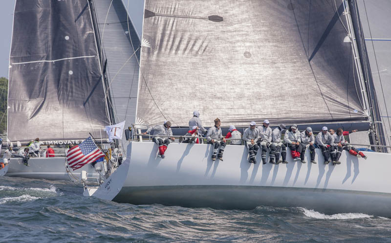 Lucky at the start of the TR2015 in Newport, RI. ©Daniel Forster/NYYC