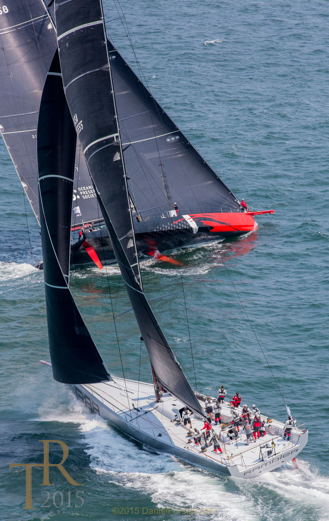 Rambler 88  takes IRC Class 1 Honors while  Comanche  breaks the 24-hour speed record making her the fastest monohull on the planet!