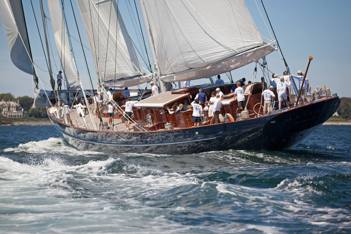 NEWS:   Superyacht racing to continue in Newport! photo: ©  Billy Black