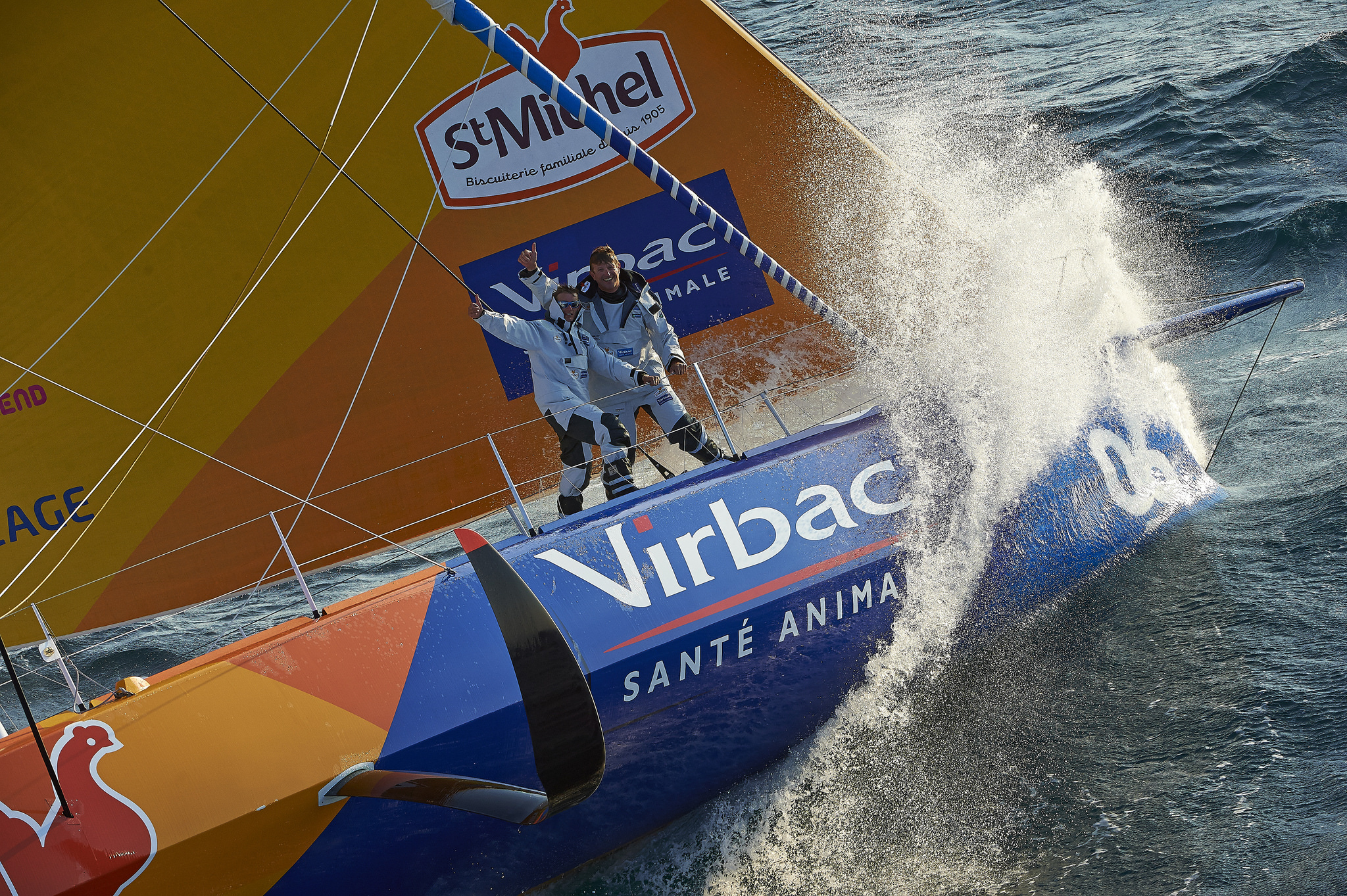 The IMOCA Ocean Masters team will have a technical stop at Newport Shipyard before their May 29 start in New York City.