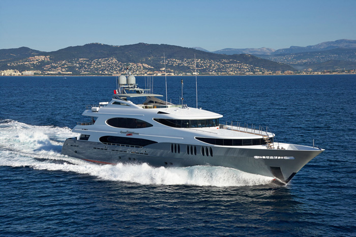 The 161-foot  Zoom Zoom Zoom  is the largest yacht signed up, so far, in the 2016 Newport Charter Yacht Show