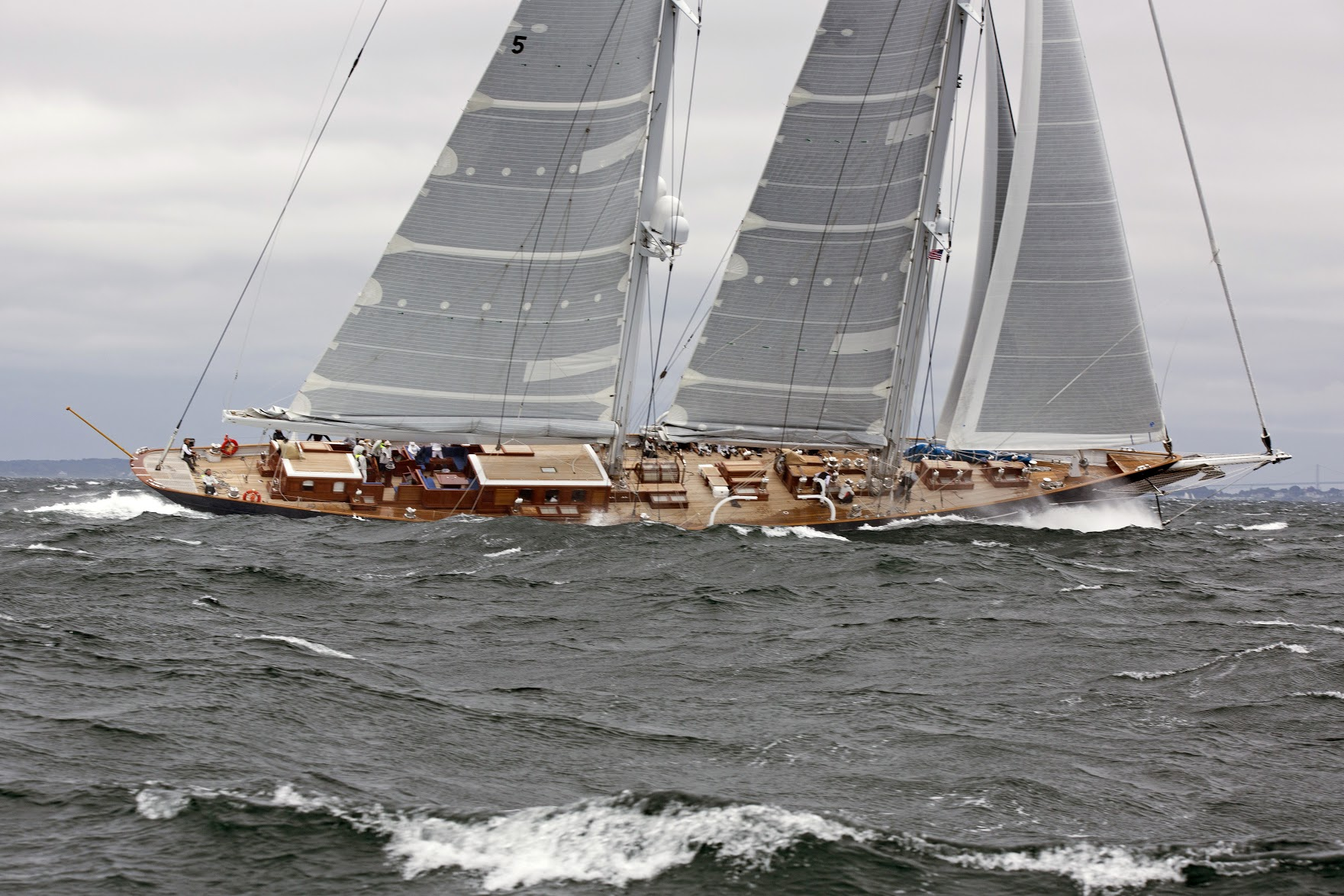 METEOR wins Class C in the 2017 Candy Store Cup Superyacht Regatta. Photo: Billy Black
