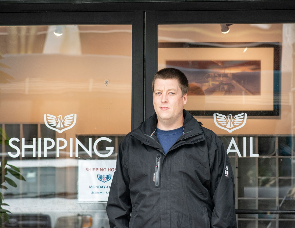 Mike Adams is our shipping & receiving manager.