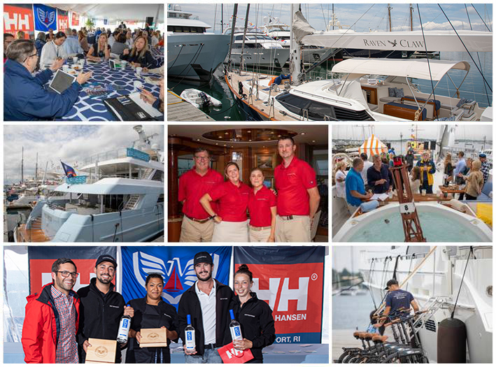 Scenes from the 2019 Newport Charter Yacht Show presented by Helly Hansen Newport.  (photos by Billy Black)
