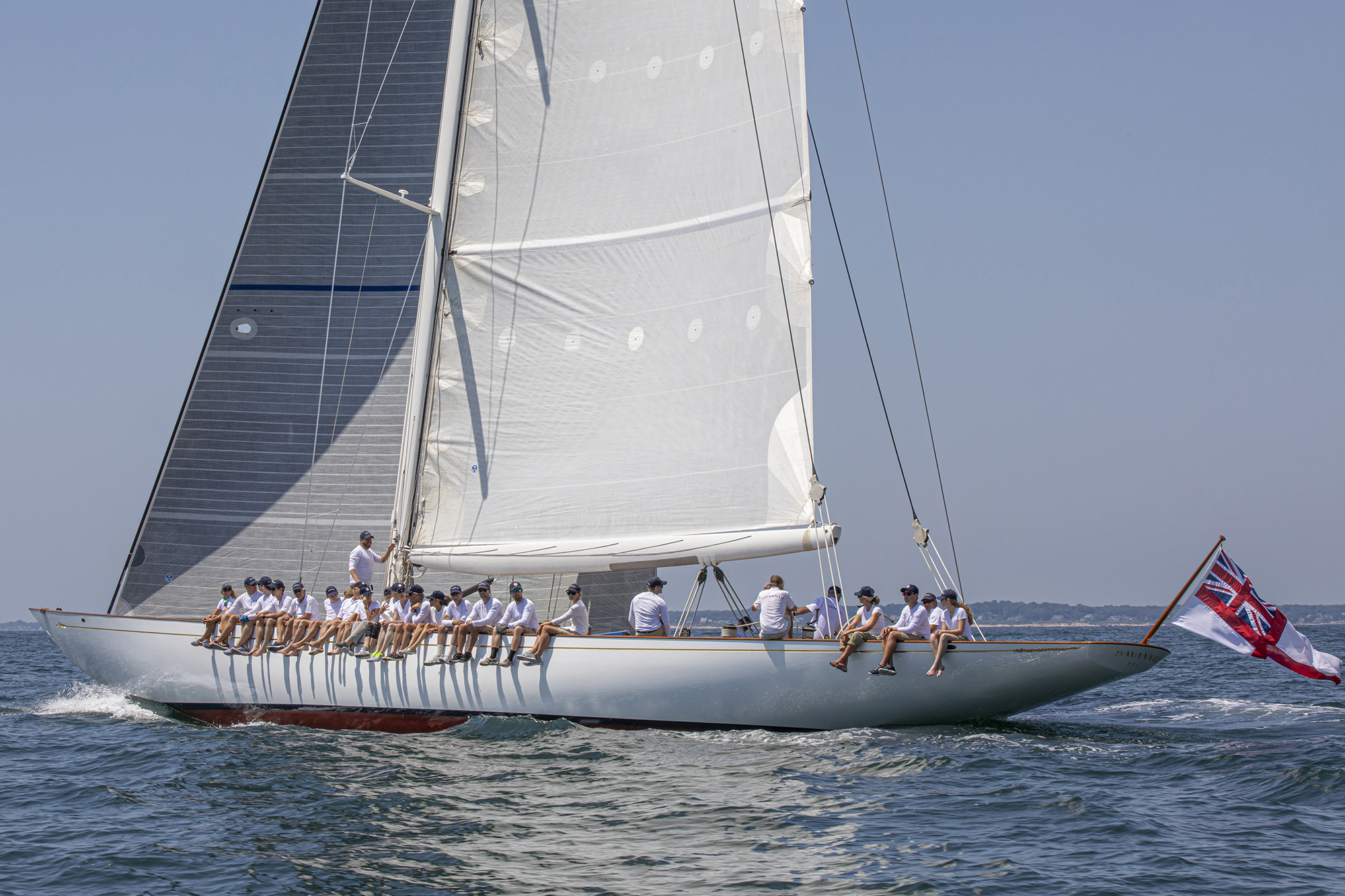 Savannah  racing on Day 2 of the Candy Store Cup - Photo: © Billy Black