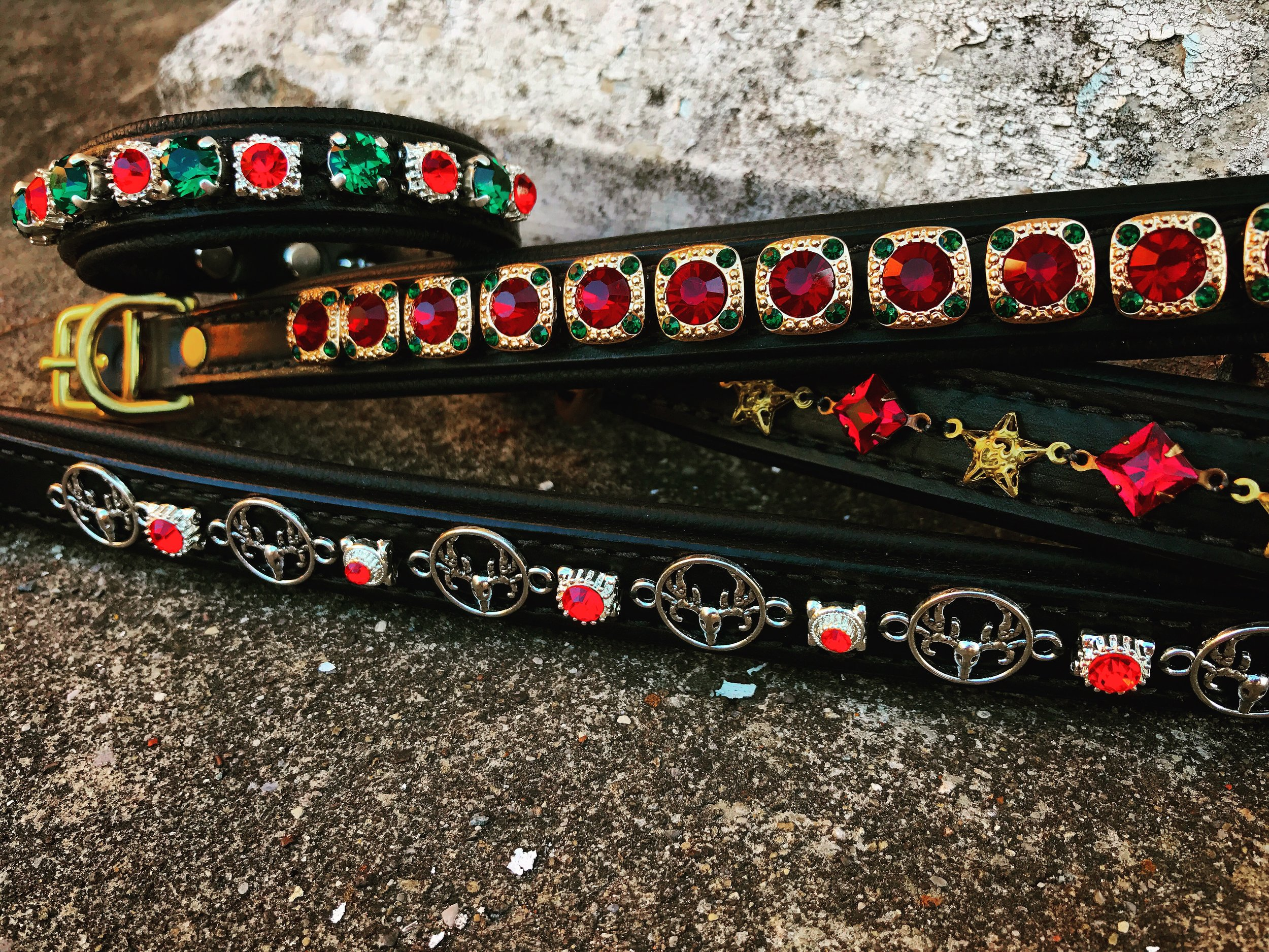 Holiday themed collars!