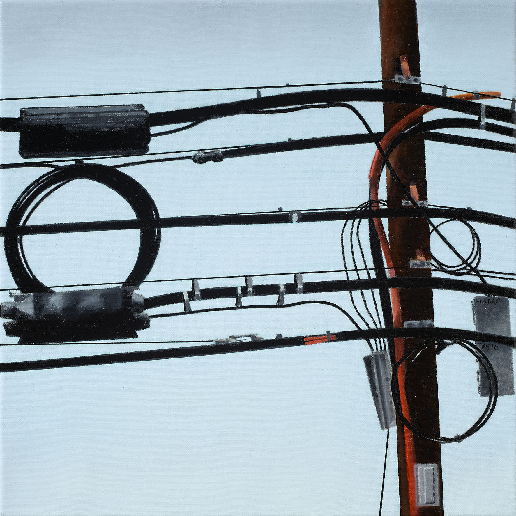 Wires -  Private Collection, Switzerland
