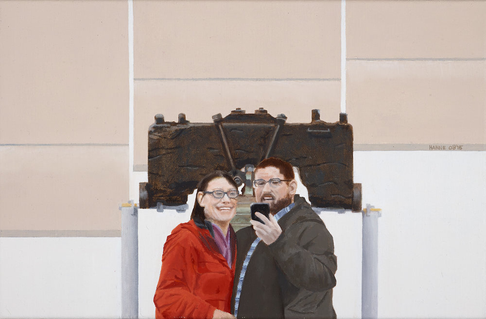 Philadelphia  2015 Oil on linen; 26 x 40 cm