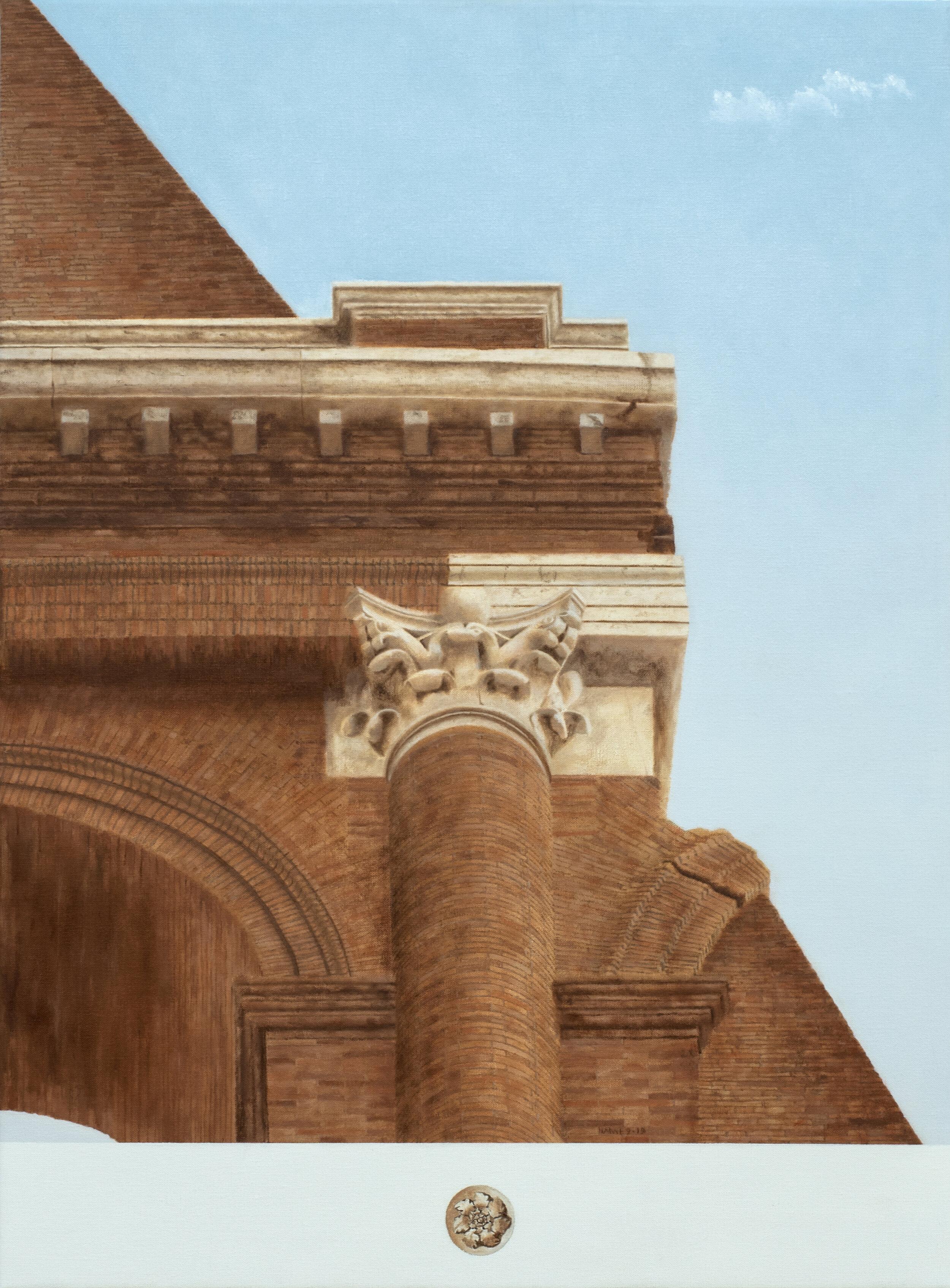 Colosseo, Roma  2019 Olio su lino; 78 x 58 cm