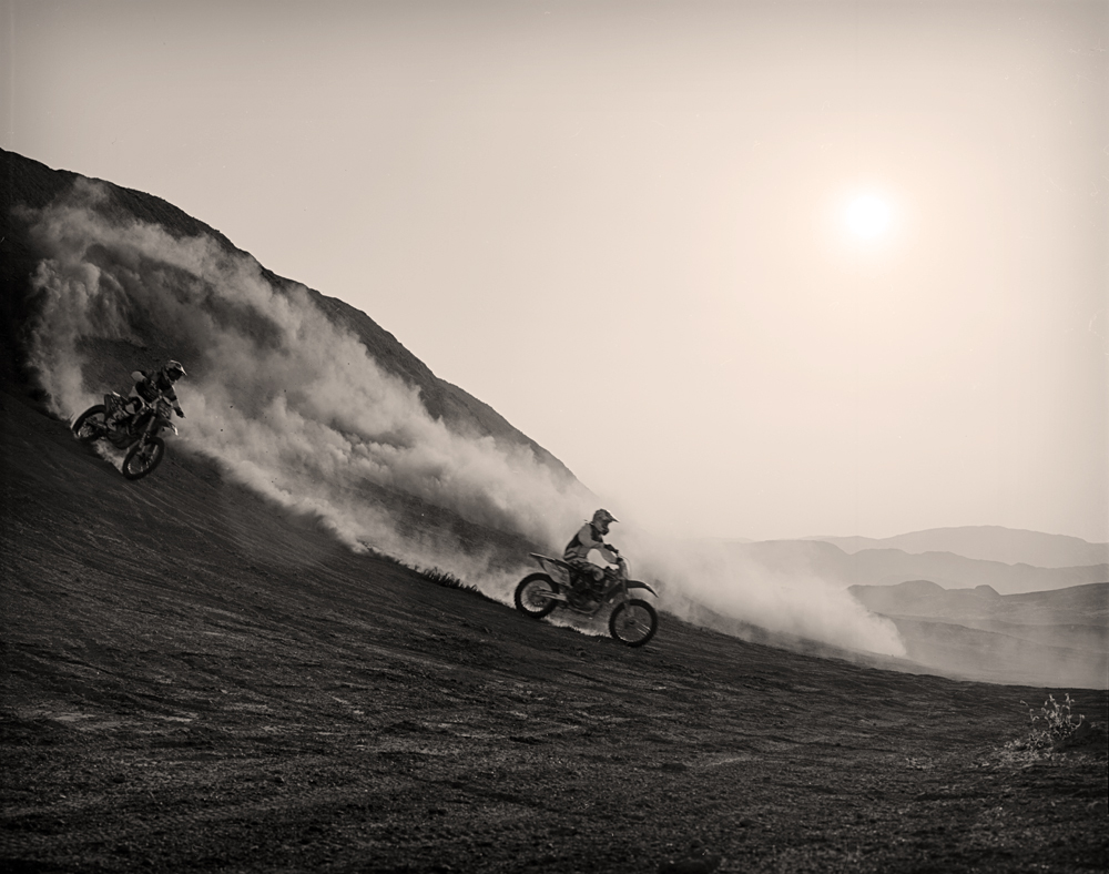 Ronnie Renner and Drake McElroy, Ocotillo Wells, CA, 2010