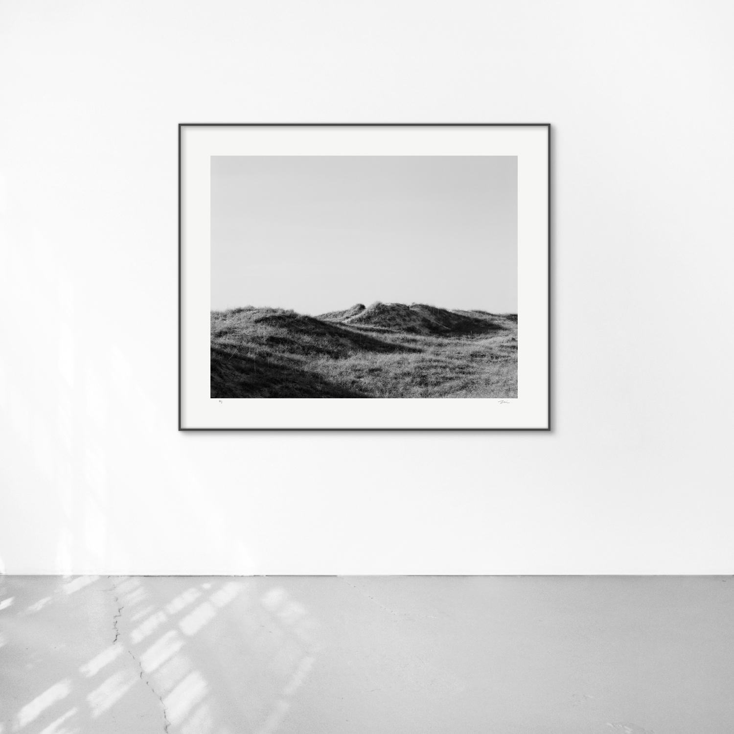 Shackleford I, 30x40, framed 38x48. Silver gelatin photograph.