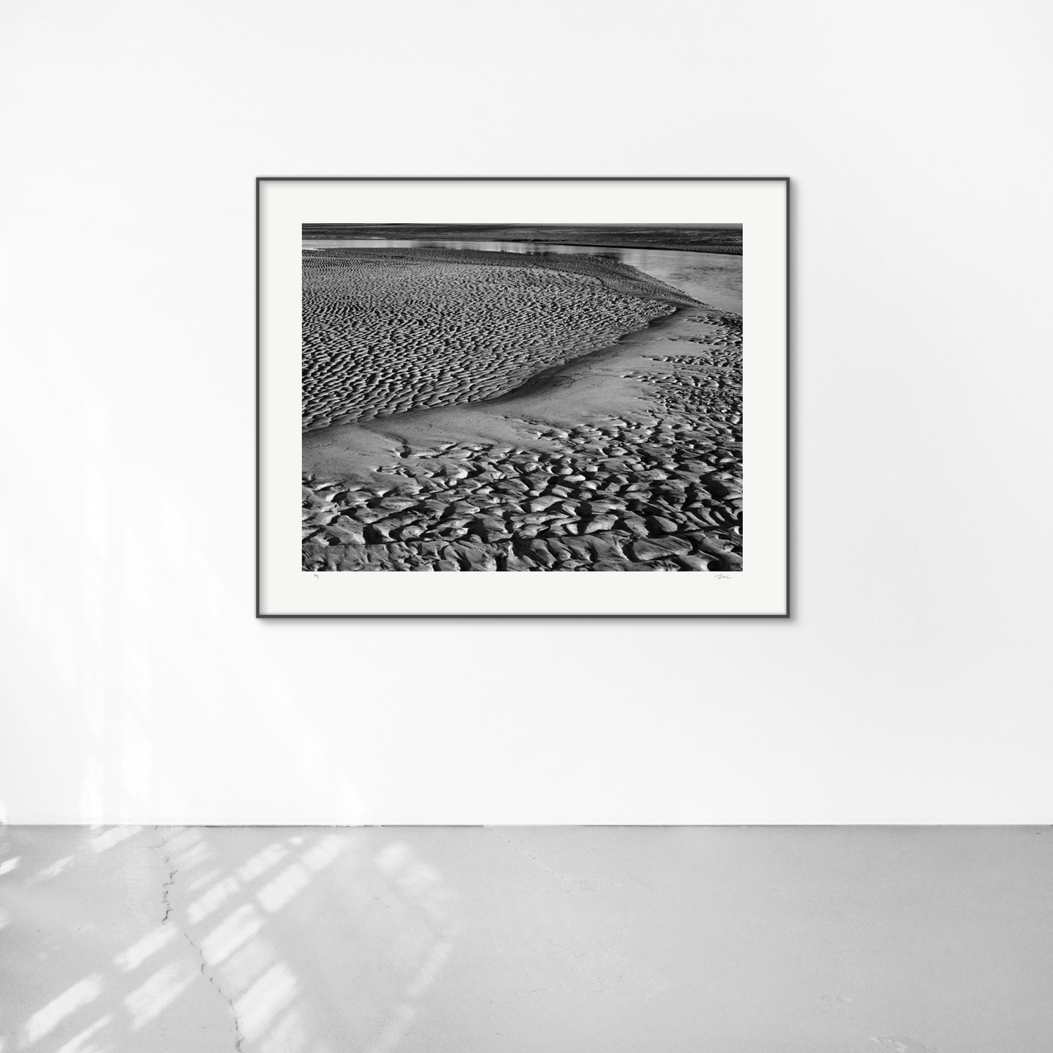 Shackleford II, 30x40, framed 38x48. Silver gelatin photograph.