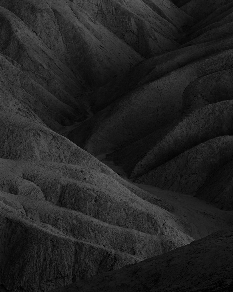 BADLANDS X, 2014. Death Valley National Park, CA