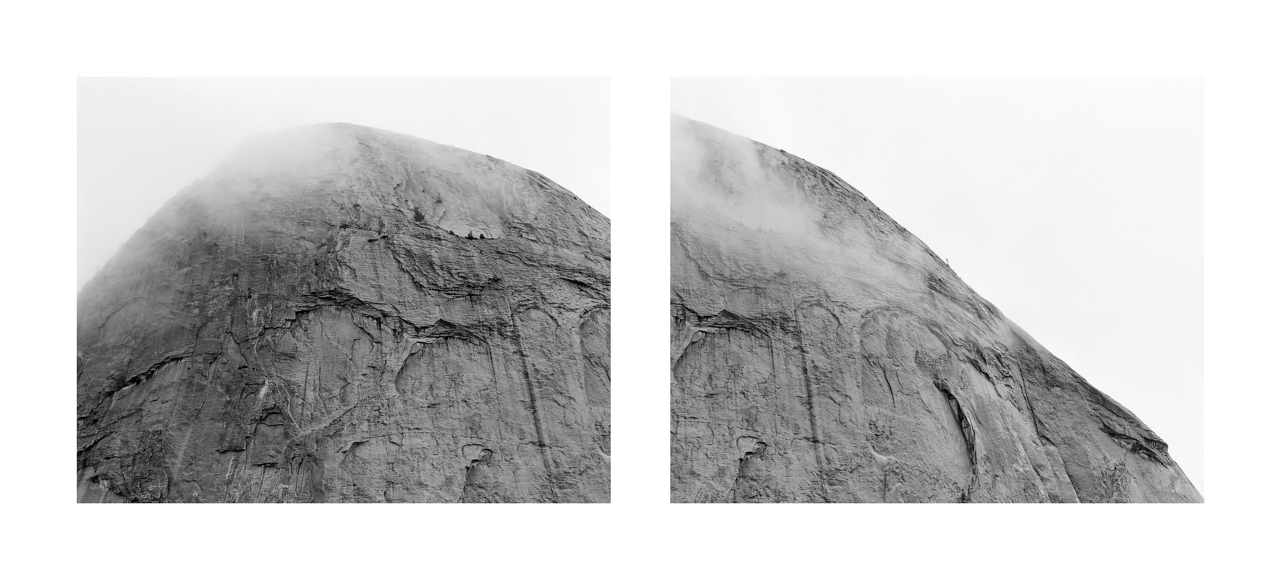 UNTITLED YOSEMITE DIPTYCH, 2018