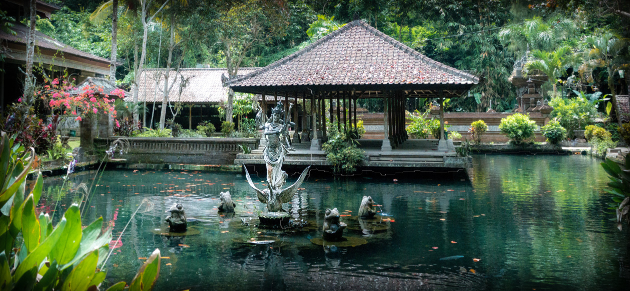 Gunung Kawi Water Temple.