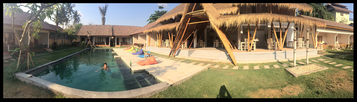 The Kuta Baru Home Stay! What an amazing place to spend our time!
