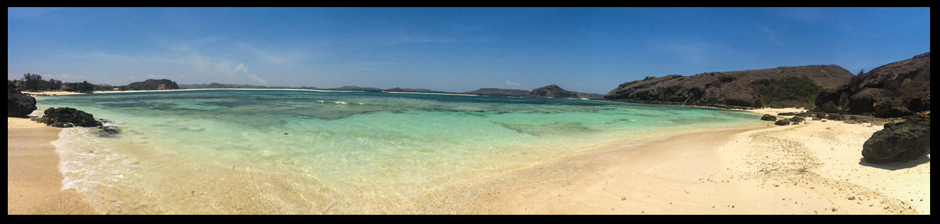 Our secret sea shell beach. Millions of sea shells around every corner!