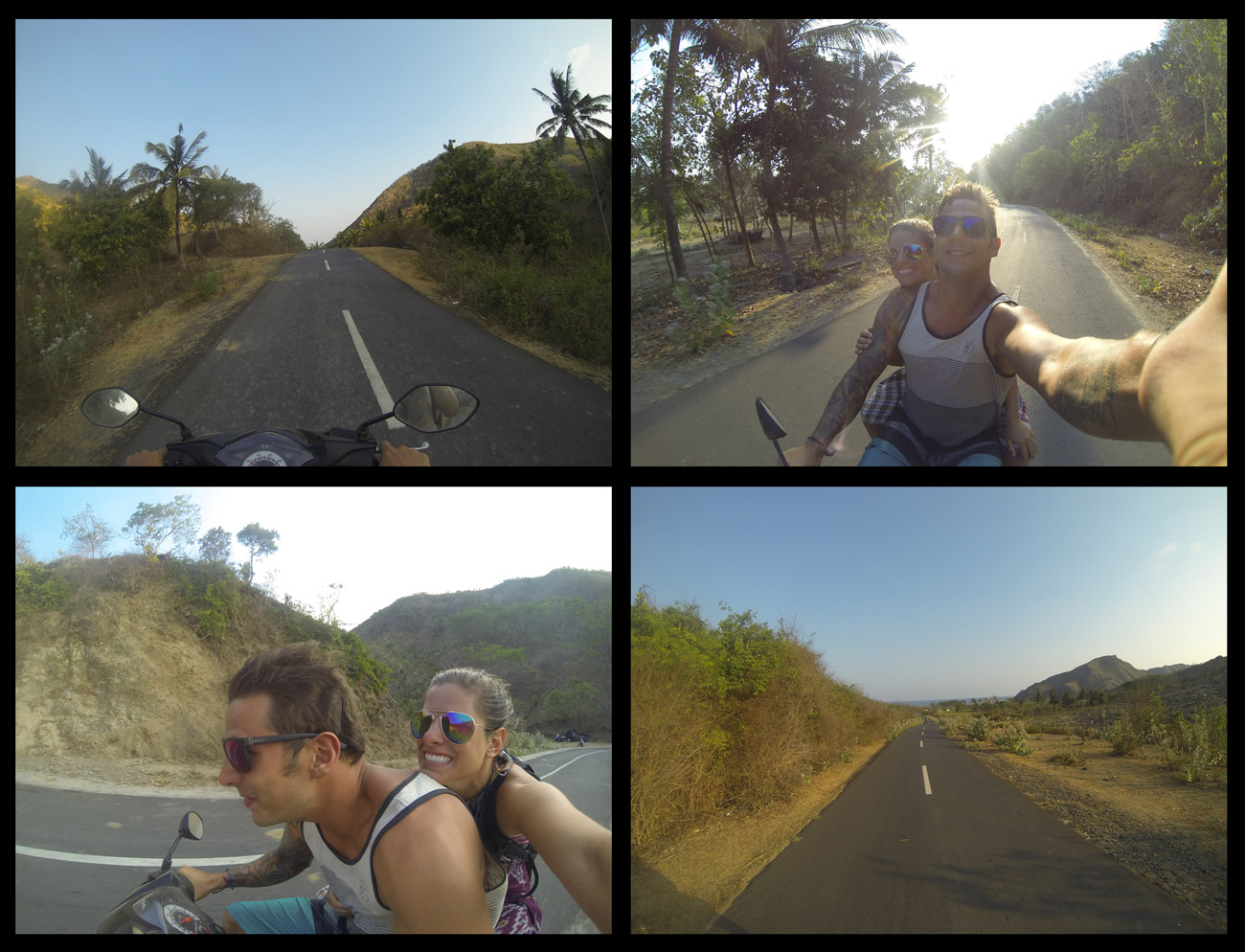 Moped Shenanigans on the empty roads!