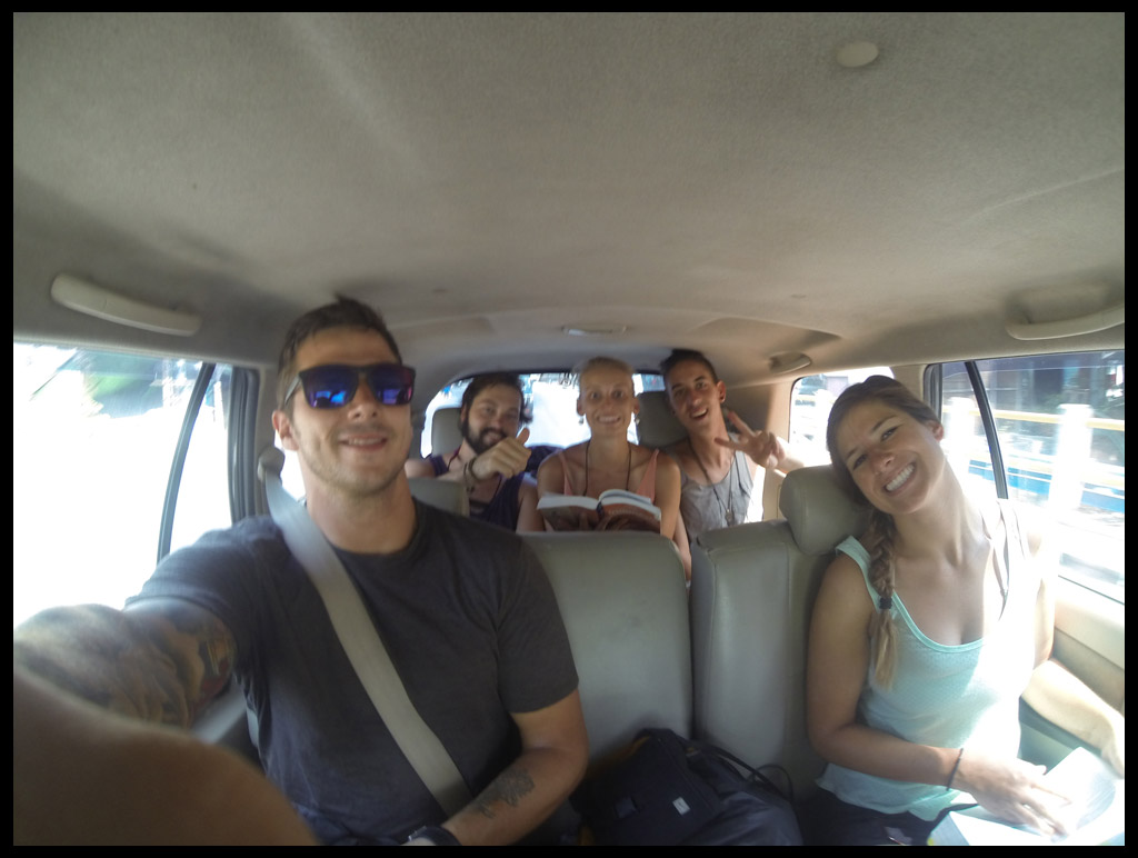 Driving to Senggigi from Mt. Rinjani for a quick 2 day pit stop before heading to Kuta, Lombok.