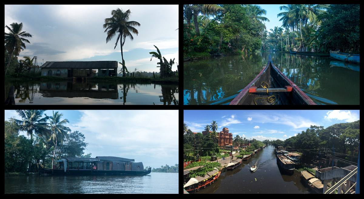 On bottom left: Our royal houseboat.