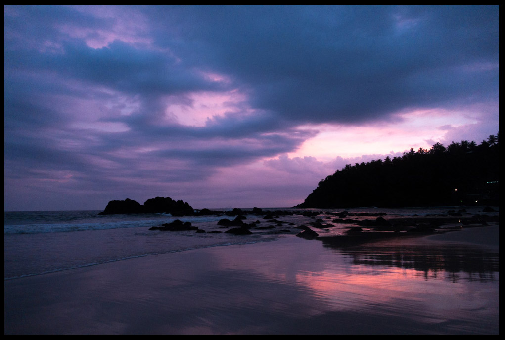 Beautiful Sunset at Mirissa Beach