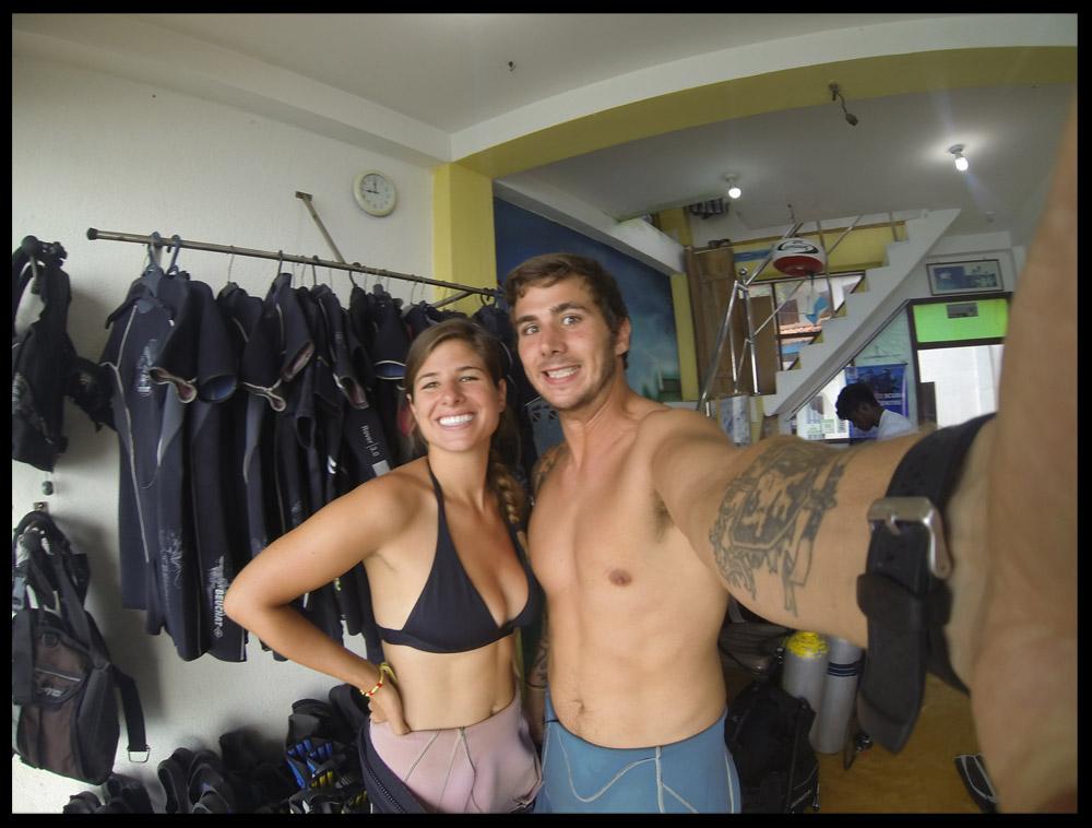 Pre-Dive Check!