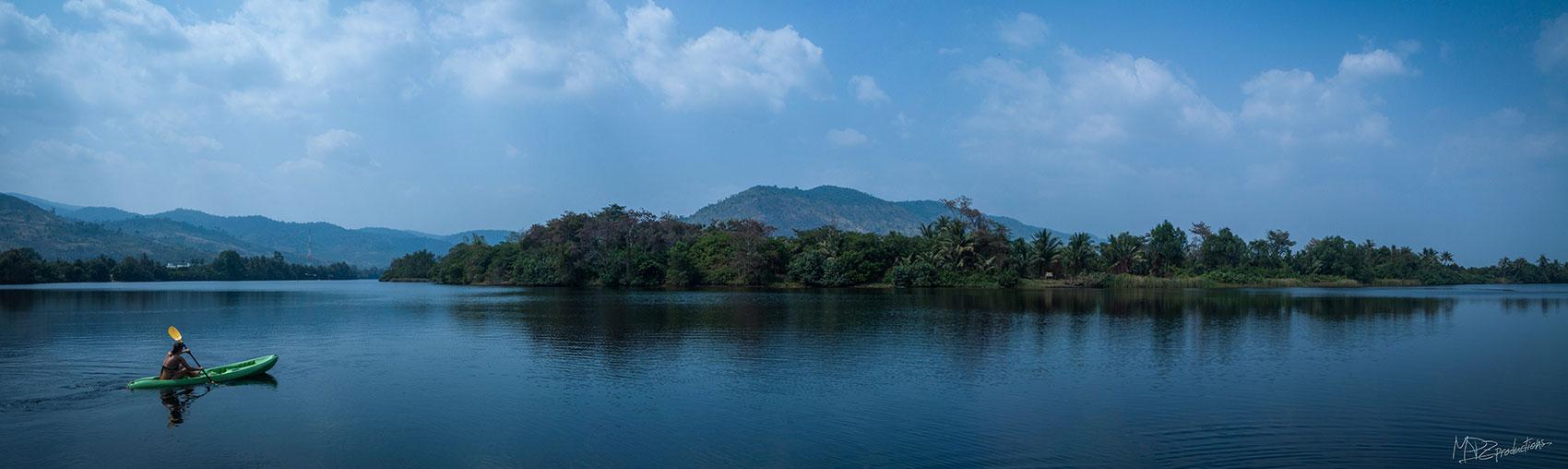 Kayaking day trip on the Kampot River