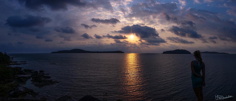 Sunset at Elephant Rock.