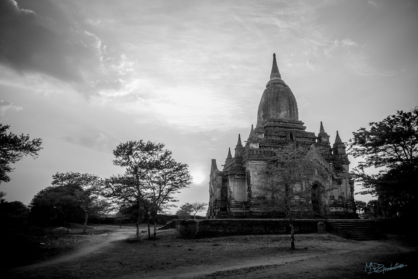 Thousands of these temples covered the plains of Bagan!