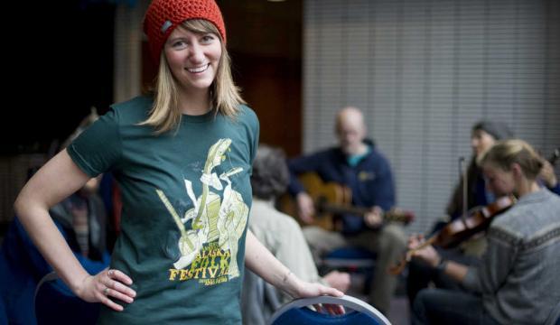 Alaska Folk Fest:Little poster a big deal -