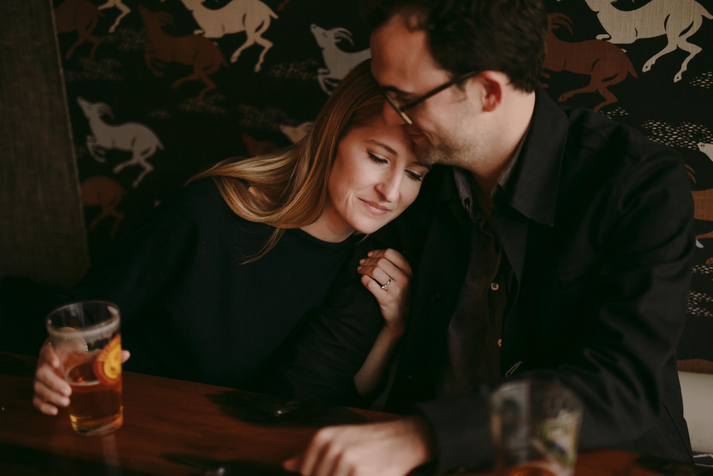 Cameron + Joe Engagement Photos in The Gulch Nashville Photography Anthology (2 of 24).jpg
