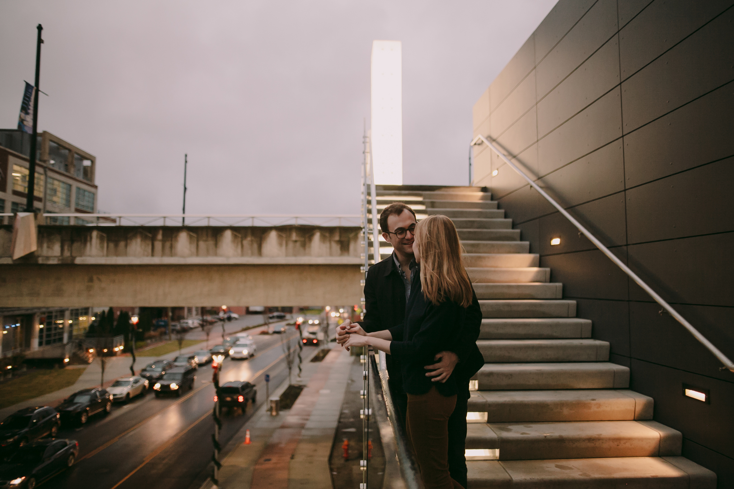 Cameron + Joe Engagement Photos in The Gulch Nashville Photography Anthology (17 of 24).jpg