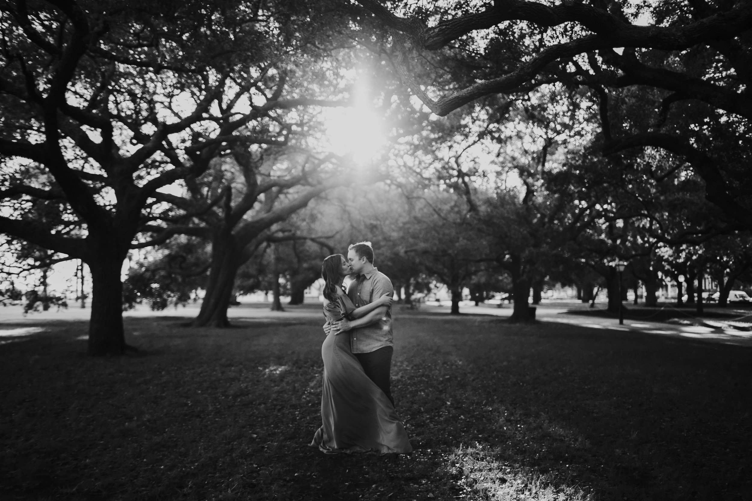 Photography Anthology - Downtown Charleston Engagement Session - The Battery - Historic Charleston White Point Gardens (1 of 5).jpg