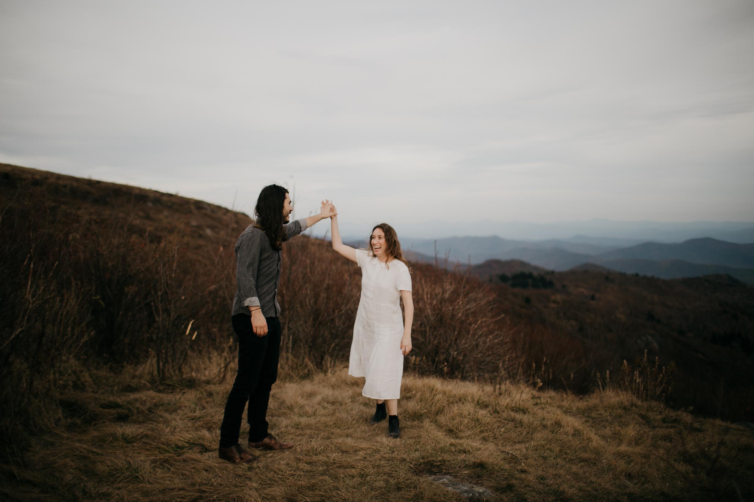Photography Anthology - Black Balsam Knob Asheville Blue Ridge Mountains Smoky Mountains Engagement Photos (7 of 49).jpg