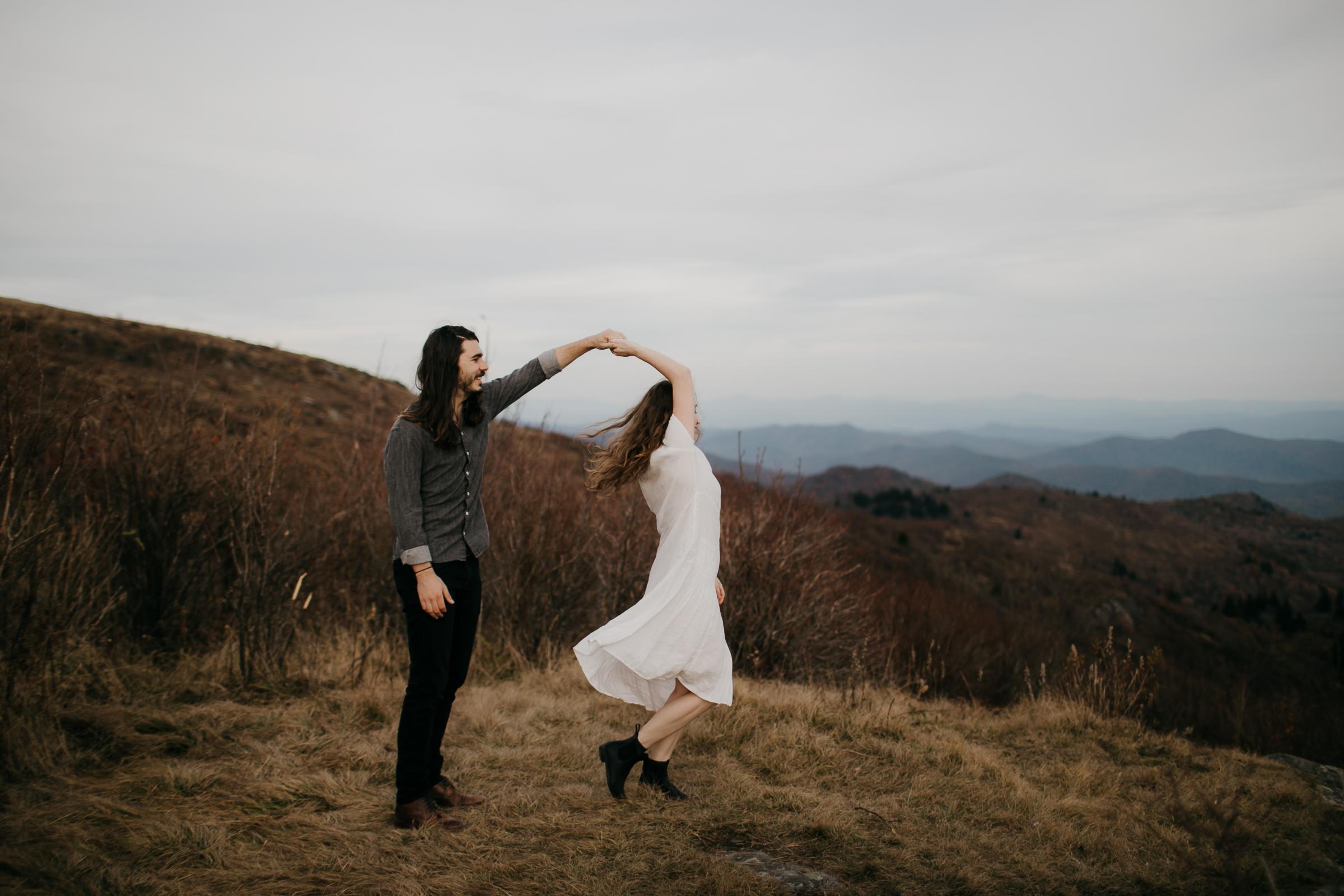 Photography Anthology - Black Balsam Knob Asheville Blue Ridge Mountains Smoky Mountains Engagement Photos (8 of 49).jpg