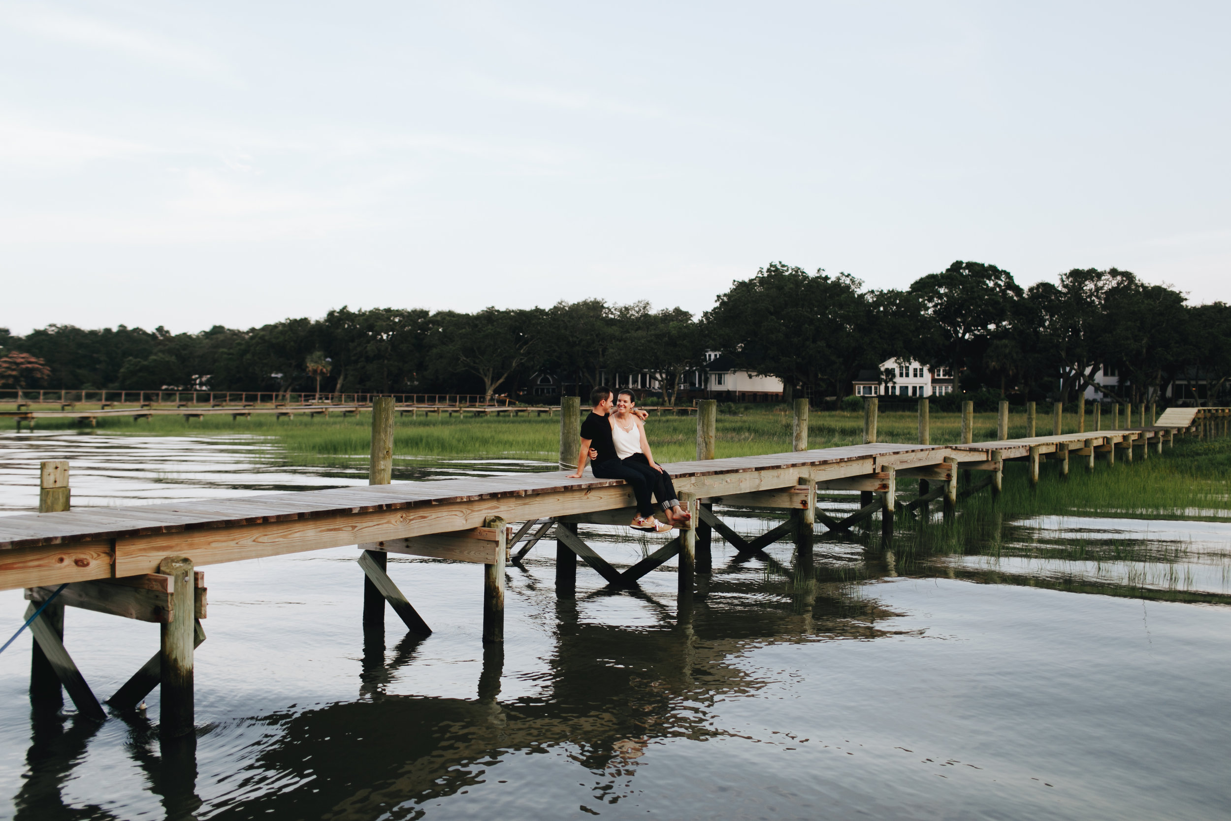 Photography Anthology - Charleston MArsh Engagement Sesison On Dock (28 of 47).jpg