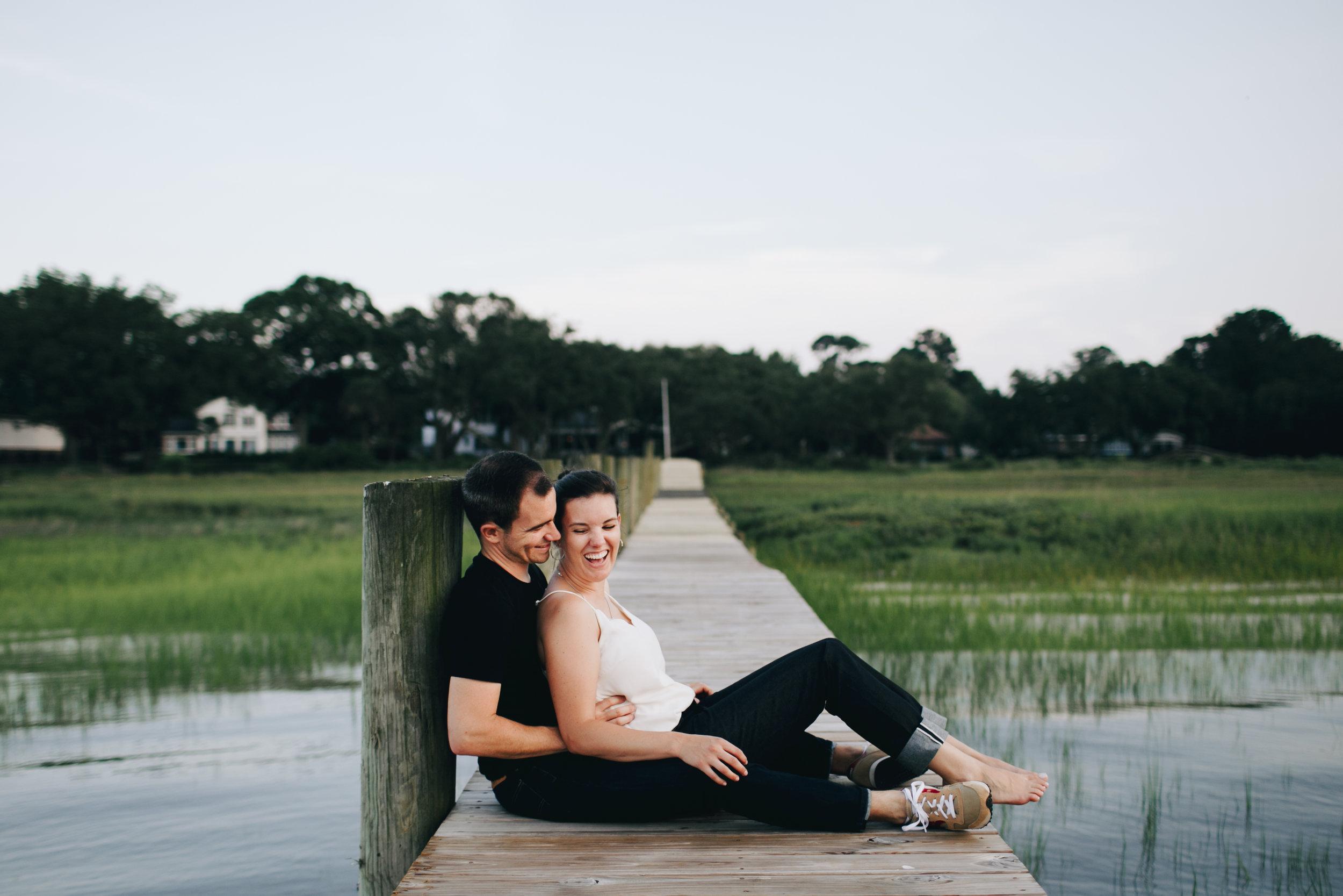 Photography Anthology - Charleston MArsh Engagement Sesison On Dock (30 of 47).jpg