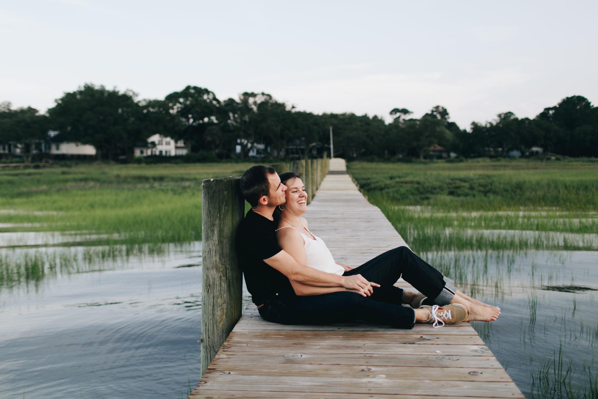 Photography Anthology - Charleston MArsh Engagement Sesison On Dock (29 of 47).jpg